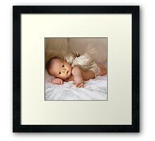 A Christmas Angel for David Parkin Framed Print