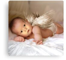 A Christmas Angel for David Parkin Canvas Print