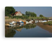 Blakeney in Norfolk Canvas Print