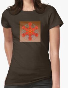 13 Spheres Womens Fitted T-Shirt