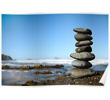 stack of stones Poster