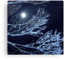 Nature's Blowed Art Glass Canvas Print