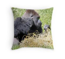 Bobs in laid back mode. Throw Pillow