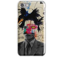 samo (basquait) iPhone Case/Skin