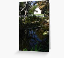 Peaceful Reflection, Prayer Chapel, Westmont College, Santa Barbara, CA 2008 Greeting Card