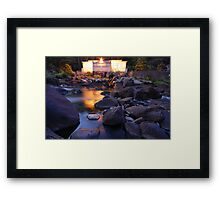 Duck Reach Power Station Framed Print
