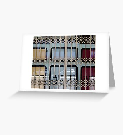 Gated Window Greeting Card