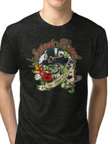 Satansbrand Tattoo Cliche Logo Tri-blend T-Shirt
