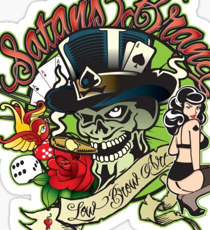 Satansbrand Tattoo Cliche Logo Sticker