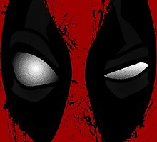 Deadpool Stare Contest by avbtp