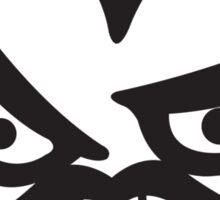 Devil face Sticker