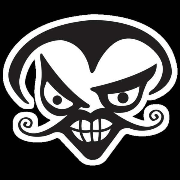 Devil face by Rob Stephens