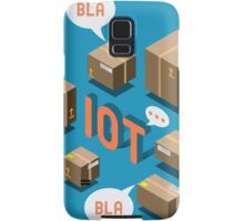 Isometric Internet of Things Concept Samsung Galaxy Case/Skin
