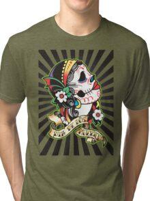 Dia de los Muertes Tri-blend T-Shirt