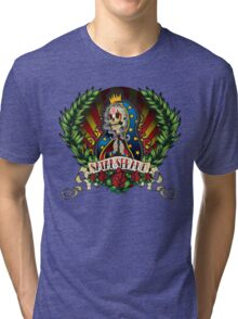 The Virgin of Guadalupe Tri-blend T-Shirt