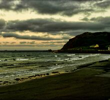 Ballygally Head by Bern McAllister