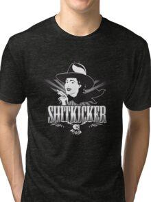 Shitkicker Tobacco Co. Tri-blend T-Shirt