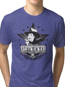 Shitkicker Tobacco Co. Tri-blend T-Shirt