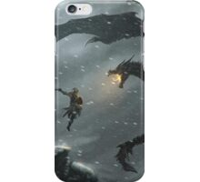 The Elder Scrolls V - Skyrim, Warrior Vs Dragon iPhone Case/Skin