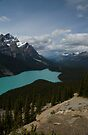 Peyto Lake by Brendan Schoon
