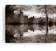 Medieval Reflections Canvas Print