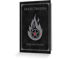 House Dresden - Stars and Stones Greeting Card