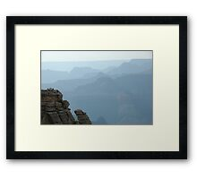 Hazy View - Grand Canyon National Park Framed Print