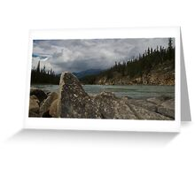Pointing Rock Greeting Card