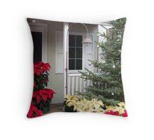 Abundant Christmas Cheer Throw Pillow