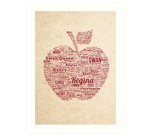 Regina Typography Art Print