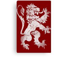 Heraldic Lion Canvas Print