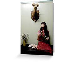 frankly, my deer... #80 Greeting Card