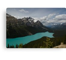 Banff National Park, Peyto Lake Canvas Print