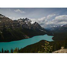 Banff National Park, Peyto Lake Photographic Print