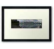 Vancouver Skyline Panorama Framed Print