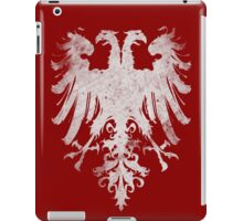 Heraldic Twin Eagles iPad Case/Skin