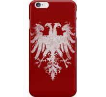 Heraldic Twin Eagles iPhone Case/Skin