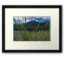 Jasper National Park, Pyramid Lake Framed Print