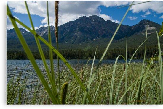 Jasper National Park, Pyramid Lake by Brendan Schoon