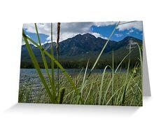 Jasper National Park, Pyramid Lake Greeting Card