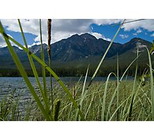 Jasper National Park, Pyramid Lake Photographic Print