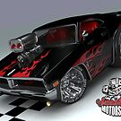 Spastic Dodge Charger by satansbrand