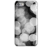 Bokeh Love Monochrome iPhone Case/Skin