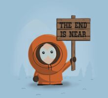 The End Is Near Kids Tee