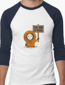 The End Is Near Men's Baseball ¾ T-Shirt