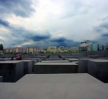 Memorial to the Murdered Jews of Europe  by mmarco1954