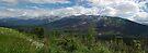 Kootenay National Park, Panoramic View by Brendan Schoon
