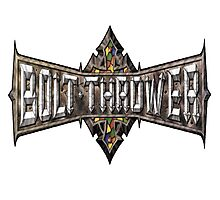 Bolt Thrower logo Photographic Print