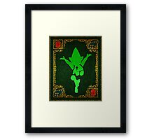 A Tale of Tingle Framed Print