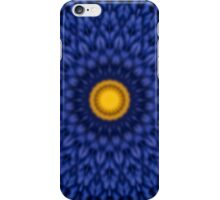 Ente auf Blau Kaleidoscope  iPhone Case/Skin